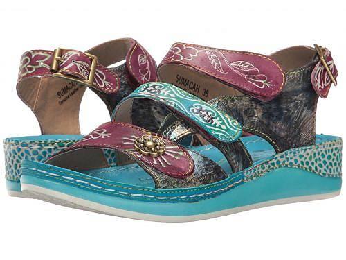 送料無料 ラーティスト L'Artiste by Spring Step レディース 女性用 シューズ 靴 サンダル Sumacah - Aqua