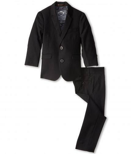 送料無料 アパマンキッズ Appaman Kids 男の子用 ファッション 子供服 スーツ Two Piece Lined Classic Mod Suit (Toddler/Little Kids/Big Kids) - Black