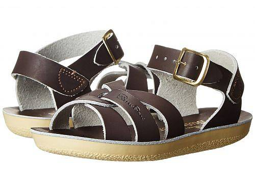 Salt Water Sandal by Hoy Shoes キッズ 子供用 キッズシューズ 子供靴 サンダル Sun-San - Swimmer (Toddler/Little Kid) - Brown