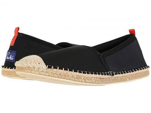送料無料 Sea Star Beachwear レディース 女性用 シューズ 靴 ローファー ボートシューズ Beachcomber Espadrille Water Shoe - Black