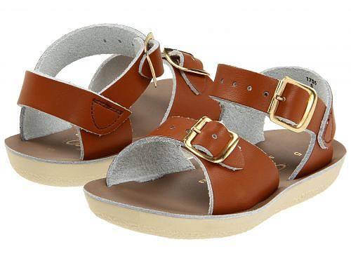 Salt Water Sandal by Hoy Shoes キッズ 子供用 キッズシューズ 子供靴 サンダル Sun-San - Surfer (Toddler/Little Kid) - Tan