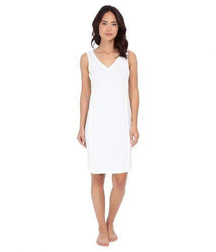 送料無料 ハンロ Hanro レディース 女性用 ファッション パジャマ 寝巻き ナイトガウン Pure Essence Tank Gown - Off-White