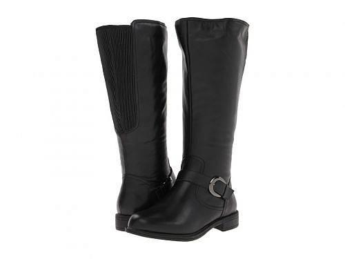 送料無料 デービッドテール David Tate レディース 女性用 シューズ 靴 ブーツ ロングブーツ Branson - Extra Wide Shaft - Black