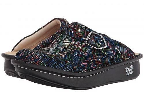 送料無料 アレグリア Alegria レディース 女性用 シューズ 靴 クロッグ ミュール Seville - Ric Rack Rainbow