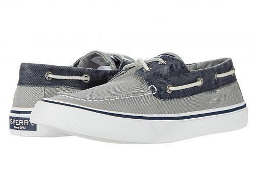 スペリー Sperry メンズ 男性用 シューズ 靴 スニーカー 運動靴 Bahama II - SW Grey/Navy