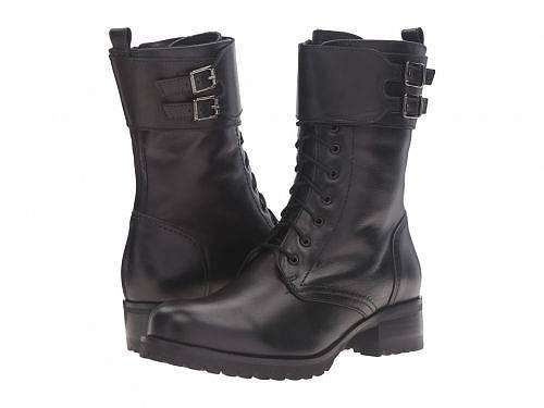 送料無料 ラカナディアン La Canadienne レディース 女性用 シューズ 靴 ブーツ レースアップブーツ Clair - Black Leather