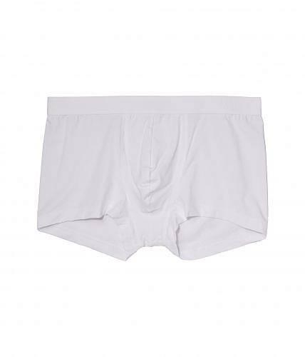 送料無料 ハンロ Hanro メンズ 男性用 ファッション 下着 Micro Touch Boxer Brief - White