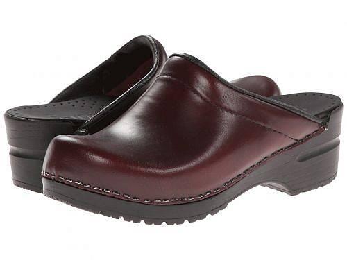 送料無料 サニタ Sanita レディース 女性用 シューズ 靴 クロッグ ミュール Sonja Cabrio - Bordeaux