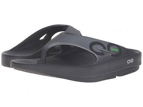 送料無料 オーフォス Oofos シューズ 靴 サンダル OOriginal Sport Sandal - Black/Graphite