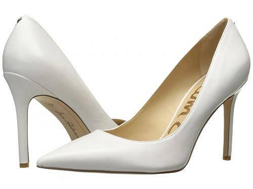 送料無料 サムエデルマン Sam Edelman レディース 女性用 シューズ 靴 ヒール Hazel - Bright White Dress Nappa Leather