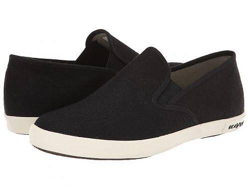 送料無料 シービーズ SeaVees レディース 女性用 シューズ 靴 スニーカー 運動靴 02/64 Baja Slip-on Standard - Black