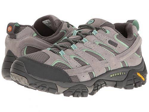 送料無料 メレル Merrell レディース 女性用 シューズ 靴 スニーカー 運動靴 Moab 2 Waterproof - Drizzle/Mint