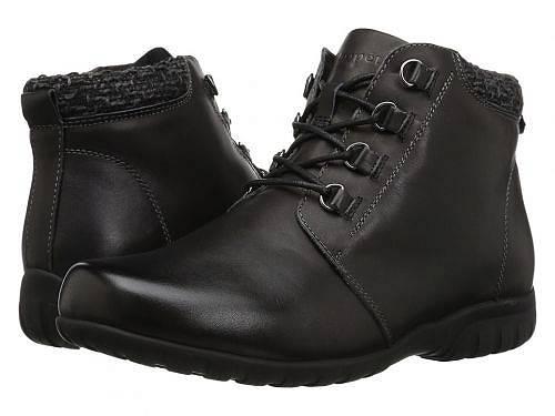 送料無料 プロペット Prop?t レディース 女性用 シューズ 靴 ブーツ レースアップブーツ Delaney - Black Leather