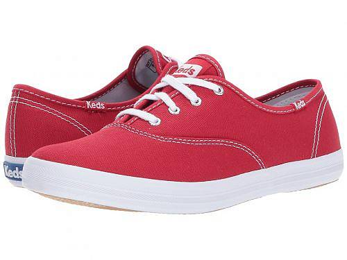 送料無料 ケッズ Keds レディース 女性用 シューズ 靴 スニーカー 運動靴 Champion-Canvas CVO - Ribbon Red