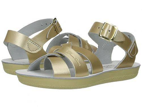 送料無料 Salt Water Sandal by Hoy Shoes 女の子用 キッズシューズ 子供靴 サンダル Swimmer (Toddler/Little Kid) - Gold