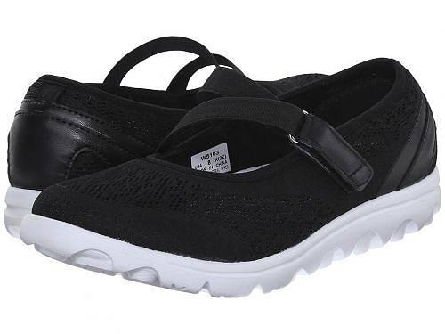 送料無料 プロペット Prop?t レディース 女性用 シューズ 靴 スニーカー 運動靴 TravelActiv Mary Jane - Black