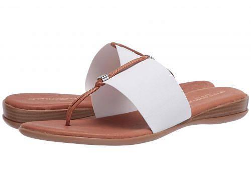 送料無料 Andre Assous レディース 女性用 シューズ 靴 サンダル Nice - White