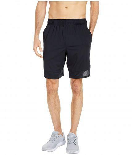 送料無料 アンダーアーマー Under Armour メンズ 男性用 ファッション ショートパンツ 短パン Training Stretch Shorts - Black/Pitch Gray