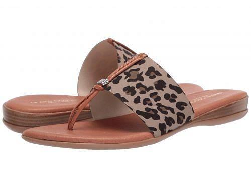 送料無料 Andre Assous レディース 女性用 シューズ 靴 サンダル Nice - Leopard