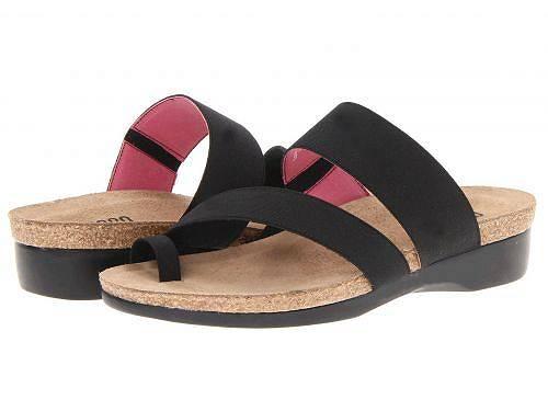 送料無料 ムンロ Munro レディース 女性用 シューズ 靴 サンダル Aries - Black Fabric