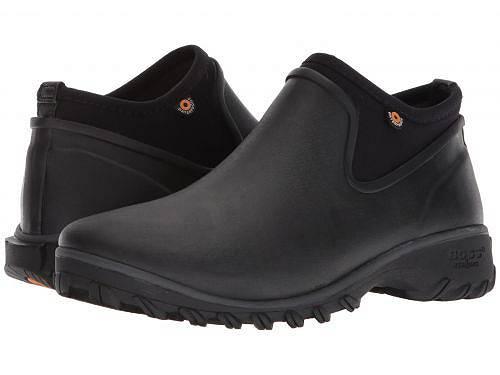 ボグス Bogs レディース 女性用 シューズ 靴 ブーツ アンクルブーツ ショート Sauvie Chelsea - Black:グッズ×グッズ