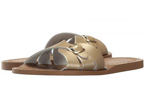 送料無料 Salt Water Sandal by Hoy Shoes 女の子用 キッズシューズ 子供靴 サンダル Classic Slide (Little Kid) - Gold