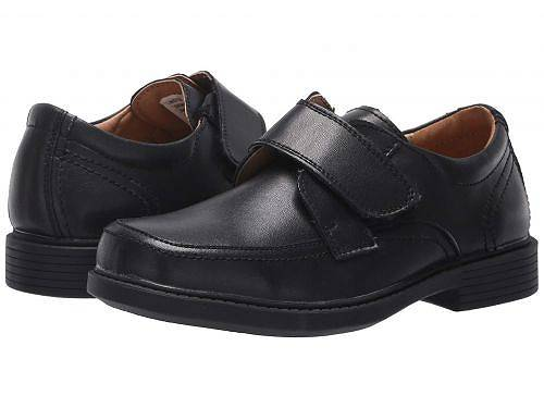 フローシャイム Florsheim Kids 男の子用 キッズシューズ 子供靴 ローファー Berwyn Jr. II (Toddler/Little Kid/Big Kid) - Black Smooth Leather