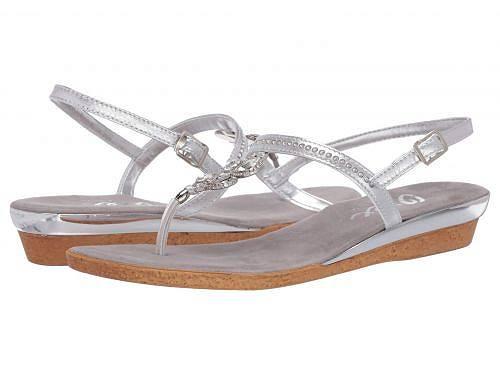 オネックス Onex レディース 女性用 シューズ 靴 サンダル Taylor - Silver