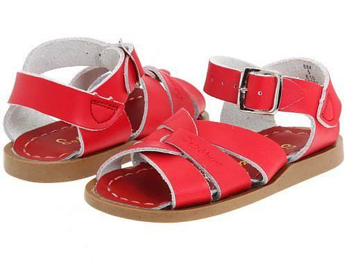 送料無料 Salt Water Sandal by Hoy Shoes キッズ 子供用 キッズシューズ 子供靴 サンダル The Original Sandal (Infant/Toddler) - Red