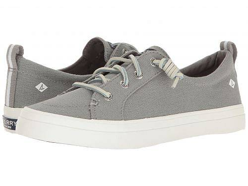 送料無料 スペリー Sperry レディース 女性用 シューズ 靴 スニーカー 運動靴 Crest Vibe Washed Linen - Grey