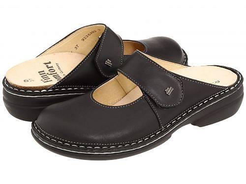 送料無料 フィンコンフォート Finn Comfort レディース 女性用 シューズ 靴 クロッグ ミュール Stanford - 2552 - Black