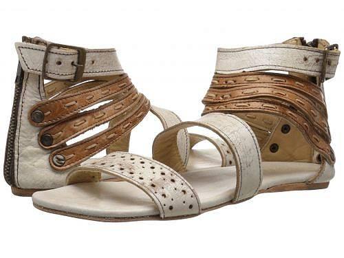 送料無料 ベッドストゥ Bed Stu レディース 女性用 シューズ 靴 サンダル Artemis - Nectar Tan Lux Leather