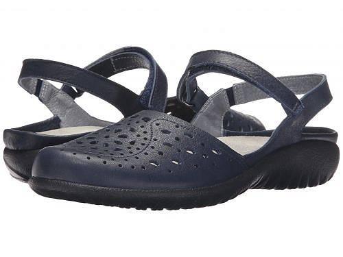 送料無料 ナオト Naot レディース 女性用 シューズ 靴 フラット Arataki - Ink Leather