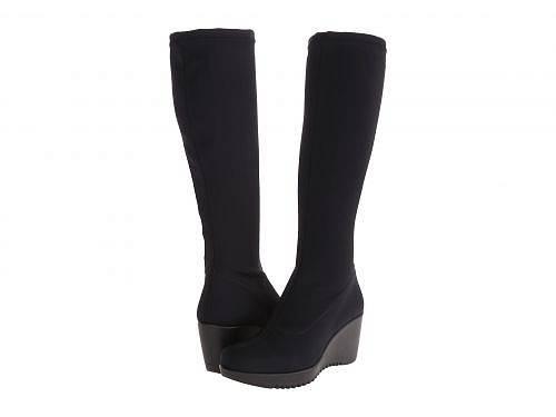 ラカナディアン La Canadienne レディース 女性用 シューズ 靴 ブーツ ロングブーツ Gaetana - Black Micro