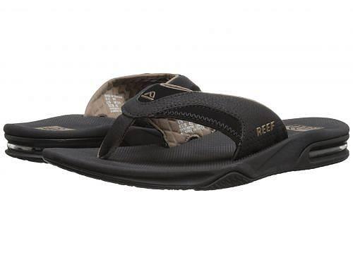 送料無料 リーフ Reef メンズ 男性用 シューズ 靴 サンダル Fanning - Black/Brown