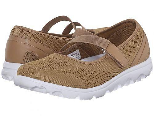 送料無料 プロペット Prop?t レディース 女性用 シューズ 靴 スニーカー 運動靴 TravelActiv Mary Jane - Honey