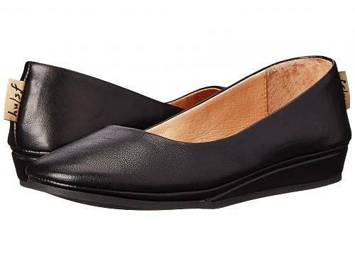 送料無料 フレンチソール French Sole レディース 女性用 シューズ 靴 フラット Zeppa Flat - Black Nappa