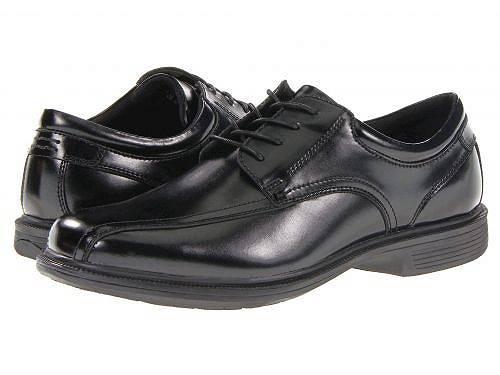 送料無料 ナンブッシュ Nunn Bush メンズ 男性用 シューズ 靴 オックスフォード 紳士靴 通勤靴 Bartole Street Bicycle Toe Oxford with KORE Slip Resistant Walking Comfort Technology - Black