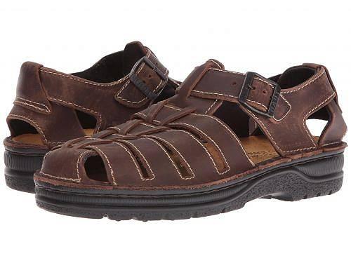 送料無料 ナオト Naot メンズ 男性用 シューズ 靴 サンダル Julius - Crazy Horse Leather