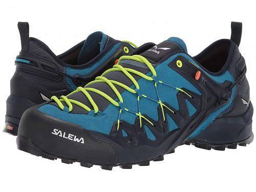送料無料 サレワ Salewa メンズ 男性用 シューズ 靴 スニーカー 運動靴 Wildfire Edge - Premium Navy/Fluo Yellow