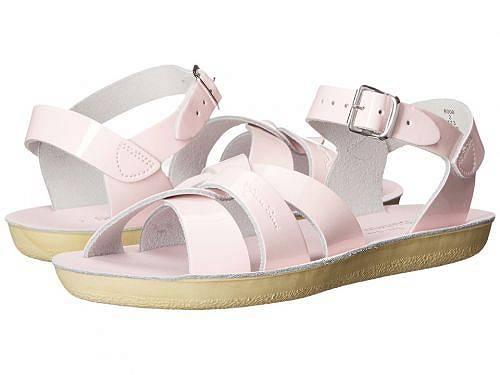 送料無料 Salt Water Sandal by Hoy Shoes 女の子用 キッズシューズ 子供靴 サンダル Sun-San - Swimmer (Toddler/Little Kid) - Shiney Pink