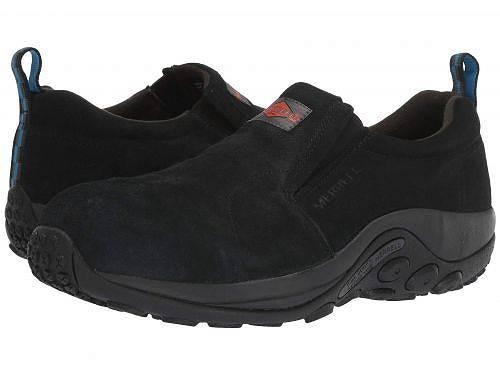 送料無料 Merrell Work メンズ 男性用 シューズ 靴 スニーカー 運動靴 Jungle Moc Alloy Toe - Black