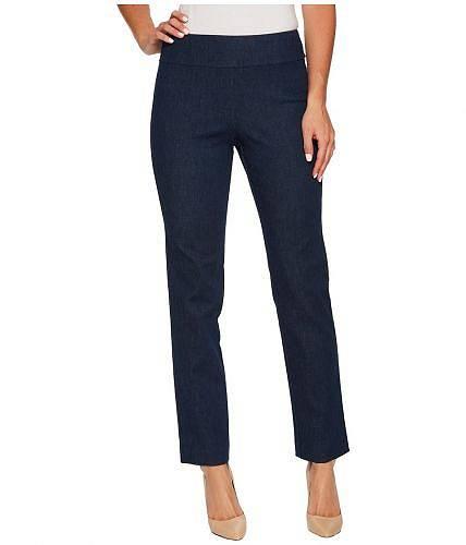 送料無料 クレイジーラリー Krazy Larry レディース 女性用 ファッション ジーンズ デニム Pull-On Denim Ankle Pants - Blue