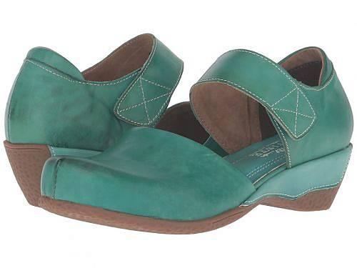 送料無料 ラーティスト L'Artiste by Spring Step レディース 女性用 シューズ 靴 ヒール Gloss - Turquoise
