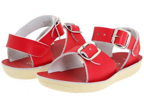 Salt Water Sandal by Hoy Shoes キッズ 子供用 キッズシューズ 子供靴 サンダル Sun-San - Surfer (Toddler/Little Kid) - Red