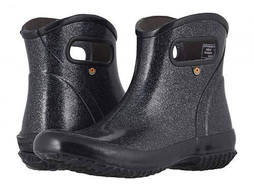 送料無料 ボグス Bogs レディース 女性用 シューズ 靴 ブーツ レインブーツ Rain Boots Ankle Glitter - Black