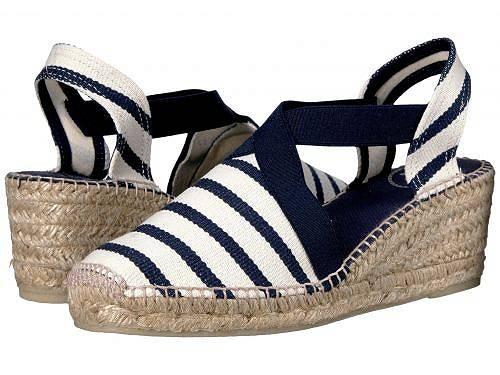 送料無料 トニーポンズ Toni Pons レディース 女性用 シューズ 靴 ヒール Tarbes - Ecru/Navy