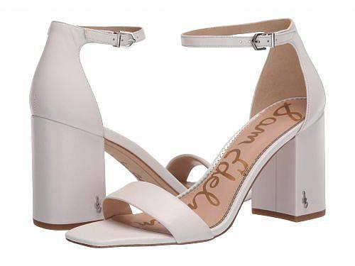 送料無料 サムエデルマン Sam Edelman レディース 女性用 シューズ 靴 ヒール Daniella - Bright White Butter Nappa Leather