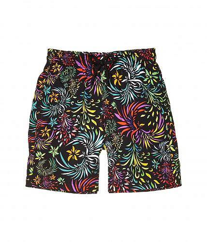Vilebrequin Kids 男の子用 スポーツ・アウトドア用品 キッズ 子供用水着 Jirise Evening Birds Superflex Swim Trunks (Toddler/Little Kids/Big Kids) - Noir