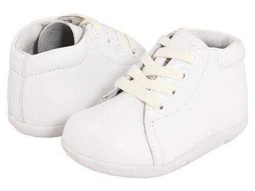 送料無料 ストライドライト Stride Rite 男の子用 キッズシューズ 子供靴 オックスフォード SRT Elliot (Infant/Toddler) - White